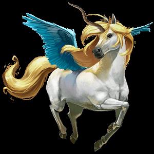 božský kůň bellacorn