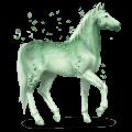 vzácný kůň nefrit