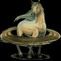 kůň ze sluneční soustavy saturn